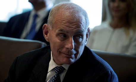 "DHS Secretary John Kelly has said, ""The best way to improve morale is to let employees do the jobs they were hired and trained to do, and recognize them for doing it."""