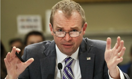 "OMB Director Mick Mulvaney said the agency was undertaking two of President Trump's ""highest priorities"" and therefore needed to up its spending."