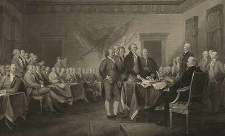 "W.L. Ormsby's ""Declaration of Independence, July 4th, 1776 "" by W.L. Ormsby."