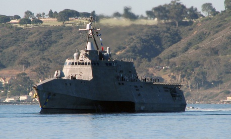 SparkCognition's CEO says his company's AI might be able to diagnose and predict engineering problems like the ones that have bedeviled the USS Coronado and other U.S. Navy littoral combat ships.