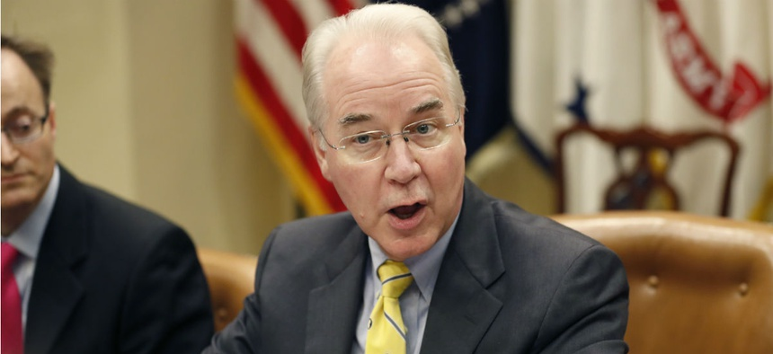 HHS Secretary Tom Price