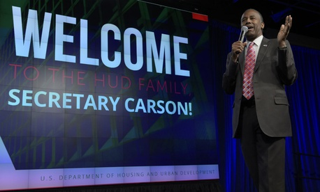 "Housing and Urban Development Secretary Ben Carson said longtime career employees ""actually have some pretty darn good ideas."""