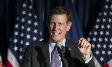 "Rep. Don Beyer, D-Va., has introduced legislation he says would ""prevent Donald Trump from enriching himself at taxpayer expense."""
