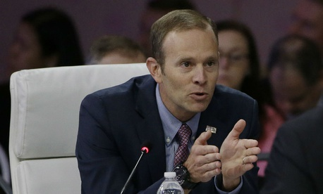 FEMA Administrator Brock Long has conducted four agency-wide town hall meetings to find out what FEMA does well and what it can improve on.