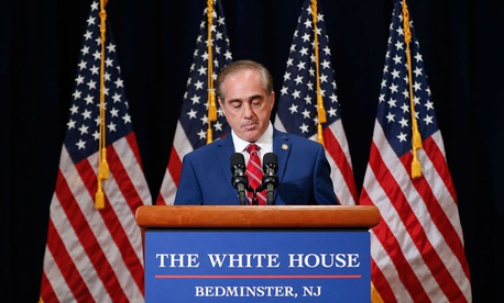 VA Secretary David Shulkin says it is a disservice to veterans to not condemn neo Nazi groups.