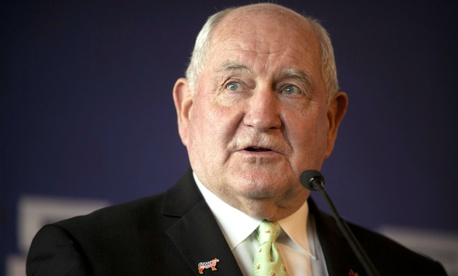 "Agriculture Secretary Sonny Perdue, in an email to department staff, said: ""As public servants, our greater understanding of these important rules will help serve USDA's mission."""