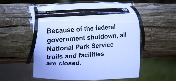 Mount Rainier National Park was shuttered during the 2013 shutdown.