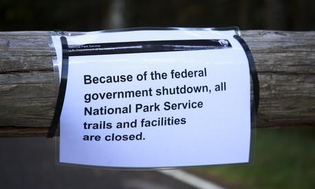 Mount Rainier National Park was shuttered during the 2013 shutdown.