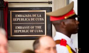The Cuban embassy in Washington.