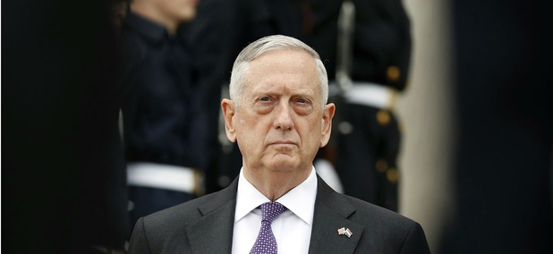 Defense Secretary James Mattis at the Pentagon in August.