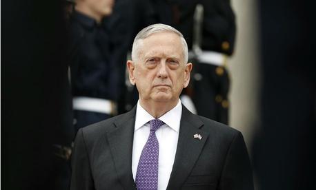 Defense Secretary James Mattis at the Pentagon in August.