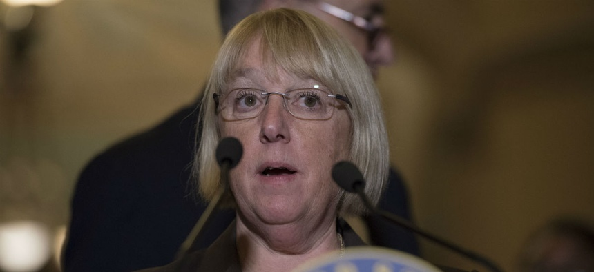 Sen. Patty Murray, D-Wash., is one of the lawmakers who pushed through legislation requiring the commission on evidence-based policy.