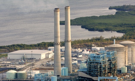 The Turkey Point nuclear plant south of Miami.