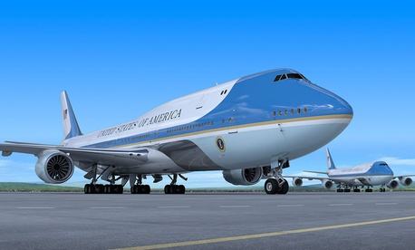 he acquisition cost of the next Air Force One won't be known until sometime next year. Even with the purchase deal done for the two 747-8s, the customization work to ready them for presidential transport won't start until 2019