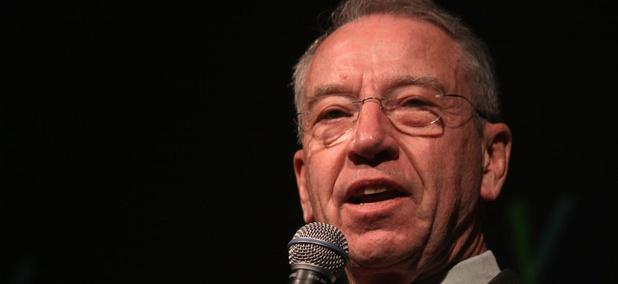 Sen. Charles Grassley, R-Iowa, got tips from whistleblowers.