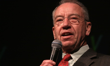 Sen. Charles Grassley, R-Iowa, got tips from whistleblowers.