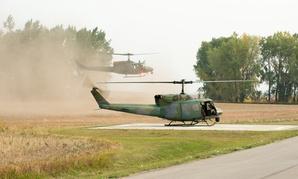 Defense Secretary Jim Mattis arrives at a missile alert facility in North Dakota on Sept. 13, 2017.