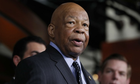 Rep. Elijah Cummings, D-Md., is leading the push for more transparency into reorganization plans.