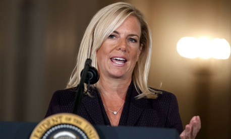 Kirstjen Nielsen is Trump's nominee for Homeland Security secretary.
