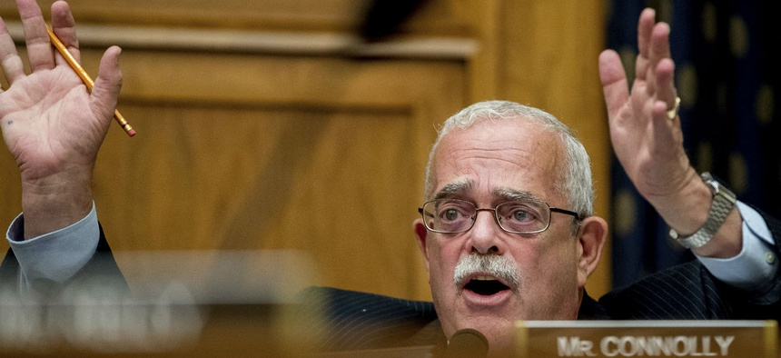 Rep. Gerry Connolly, D-Va., said he is not necessarily opposed to the bill but would like more time to study the issue. Other Democrats were already opposed.