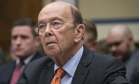 Commerce Secretary Wilbur Ross testifies before Congress in October.