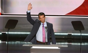 Donald Trump Jr. speaks at the 2016 Republican National Convention.