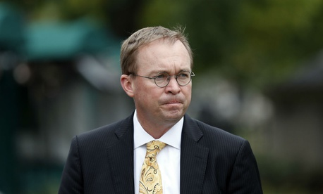 White House budget director Mick Mulvaney in September.