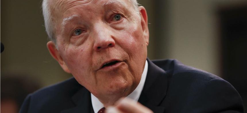 Recently retired IRS Commissioner John Koskinen.