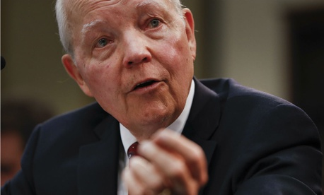 Recently retired IRS Commissioner John Koskinen.