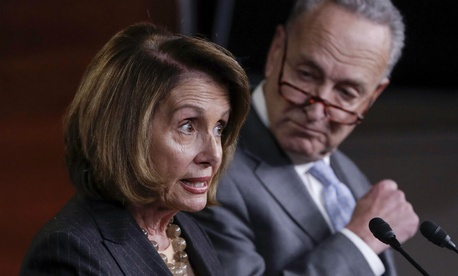 House Minority Leader Nancy Pelosi and Senate Minority Leader Chuck Schumer said the talks with Trump would be a waste of their time.