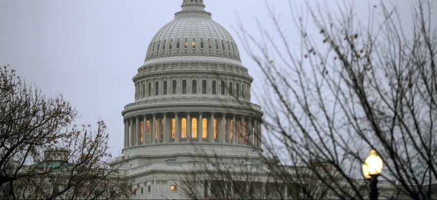 Lawmakers late Thursday passed a continuing resolution to keep government funded through Dec. 22.