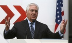 Secretary of State Rex Tillerson speaks at the OSCE Foreign Ministers in Vienna, Austria, on Dec. 7.