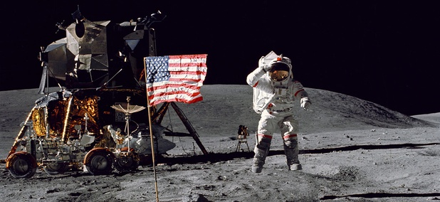 On April 16, 1972, the sixth manned lunar landing mission, Apollo 16, launched from Kennedy Space Center, Fla. on its way to conduct scientific investigations on the Moon's Descartes highlands.
