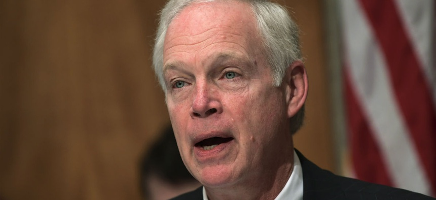 """Sen. Ron Johnson, R-Wis., said the mandate is the """"definition of government waste."""""""