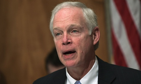 "Sen. Ron Johnson, R-Wis., said the mandate is the ""definition of government waste."""