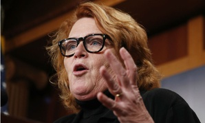 "Sen. Heidi Heitkamp, D-N.D., said: ""We're already seeing disinterest in federal service . . . It's pennywise and pound foolish, if we're constantly spending money on recruiting and training for new employees."""