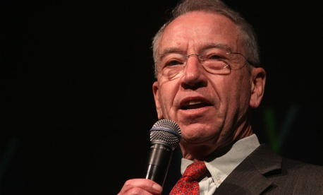 Sen. Charles Grassley, R-Iowa, asked for all documents related to Meyer's disciplinary case.