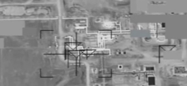 Coalition airstrikes on DAESH gas oil separation plant near Dayr Az Zawr, Syria.