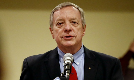 Sen. Dick Durbin, D-Ill., said Trump is risking a shutdown with his demands.