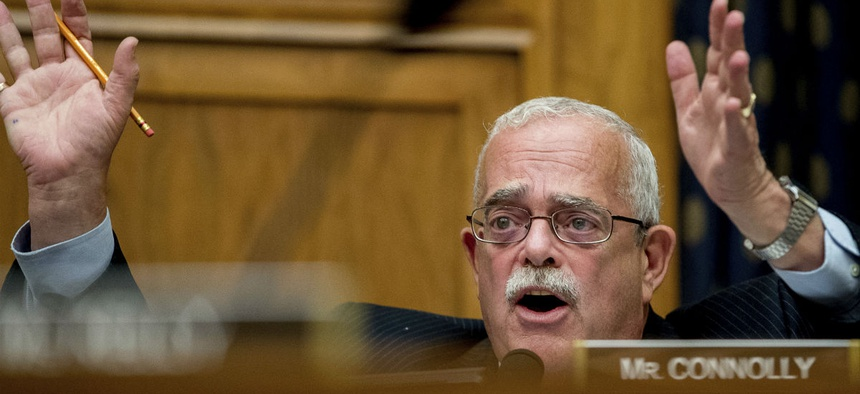 Rep. Gerry Connolly, D-Va., one of the bill's sponsors, said feds have been treated as a national piggybank for too long.