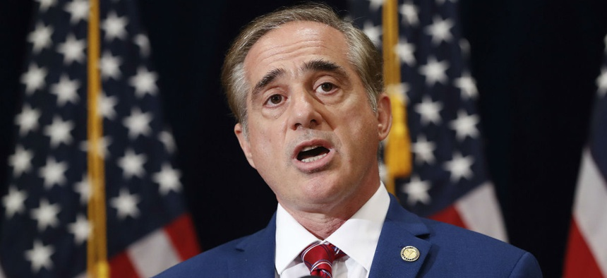 VA Secretary David Shulkin will give a progress report to the Senate Veterans' Affairs Committee Wednesday.