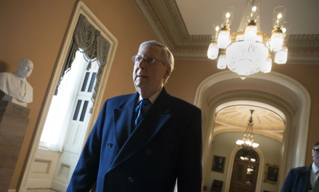 "On Sunday, Senate Majority Leader Mitch McConnell, R-Ky., said, ""This shutdown is gonna get a lot worse tomorrow."""