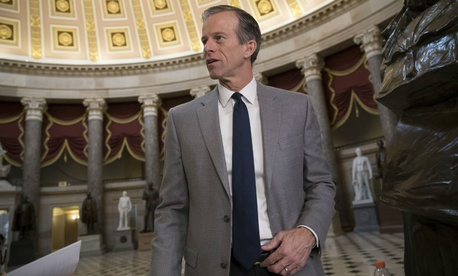 Sen. John Thune, R-S.D., the Republican Conference chairman, told reporters Monday lawmakers would likely need another CR when the current funding measure expires Feb. 8 to wrap up outstanding issues.