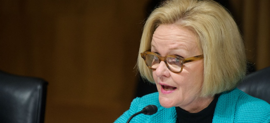 Sen. Claire McCaskill, D-Mo., is seeking answers from OMB on the Trump administration's decision to contradict some initial agency requests.