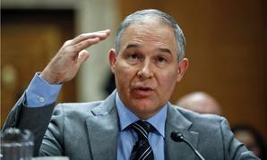 EPA Administrator Scott Pruitt testifies before the Senate Environment and Public Works Committee.
