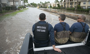 The Coast Guard Gulf Strike Team continues to respond to rescue requests in the great Houston area in August.