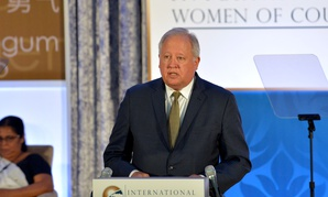 Thomas Shannon delivers remarks at the 2017 Secretary of State's International Women of Courage Award Ceremony in March.