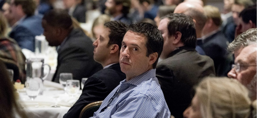 Rep. Devin Nunes, R-Calif., attends a GOP conference in White Sulphur Springs, W.Va., on Feb. 1.