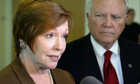 Former CDC Director Brenda Fitzgerald, who resigned Wednesday after a report revealed she once had holdings in several tobacco companies.
