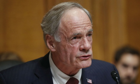Sen. Tom Carper, D-Del., is one of the sponsors of the bill.